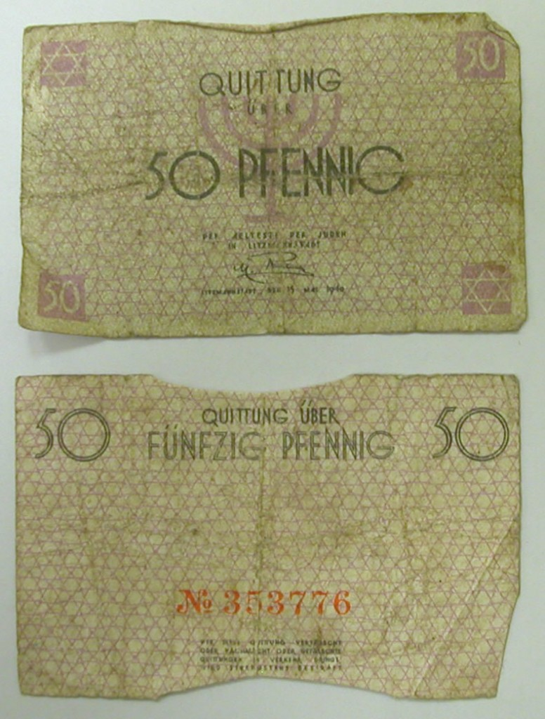 50 Pfennig bills