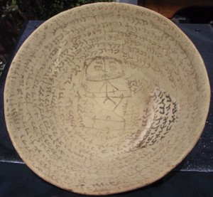 Bowl with Aramaic incantation