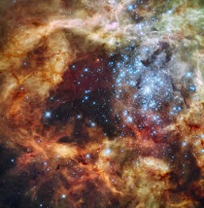 NASA picture star cluster R136